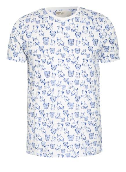 TED BAKER T-Shirt DARLLIN, Farbe: WEISS/ BLAU (Bild 1)