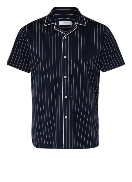 REISS Resorthemd ATWELL, Farbe: DUNKELBLAU/ WEISS (Bild 1)