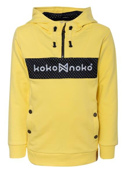 Koko Noko Hoodie, Farbe: GELB/ SCHWARZ (Bild 1)