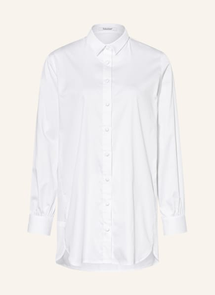 Soluzione Oversized-Hemdbluse , Farbe: WEISS (Bild 1)