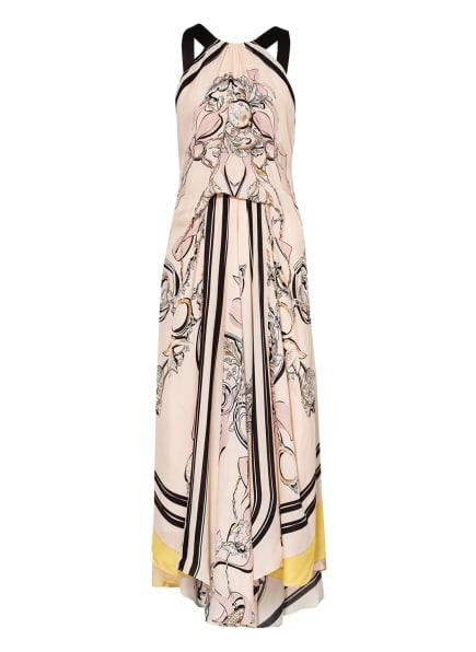 REISS Kleid GRACE, Farbe: HELLROSA/ SCHWARZ/ GELB (Bild 1)