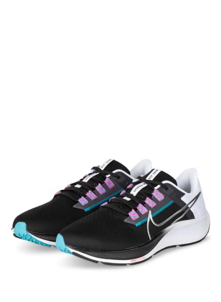 Nike Laufschuhe AIR ZOOM PEGASUS 38, Farbe: SCHWARZ (Bild 1)