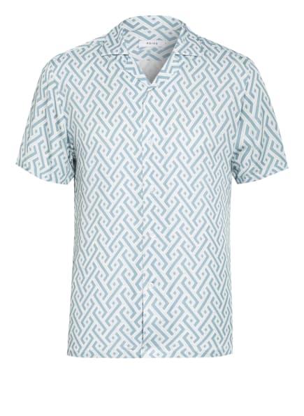 REISS Resorthemd UPTOWN Slim Fit, Farbe: WEISS/ MINT (Bild 1)