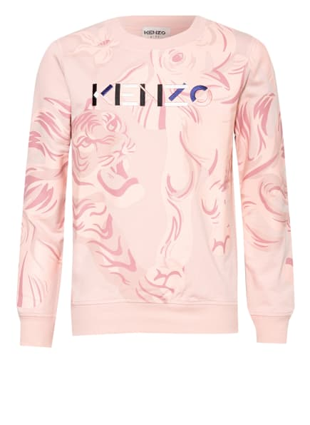 KENZO Sweatshirt TIGER, Farbe: ROSA/ ALTROSA/ ROSÉ (Bild 1)