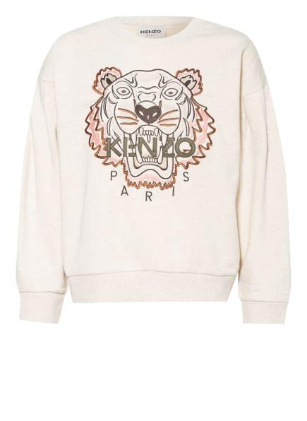KENZO Sweatshirt TIGER, Farbe: CREME (Bild 1)