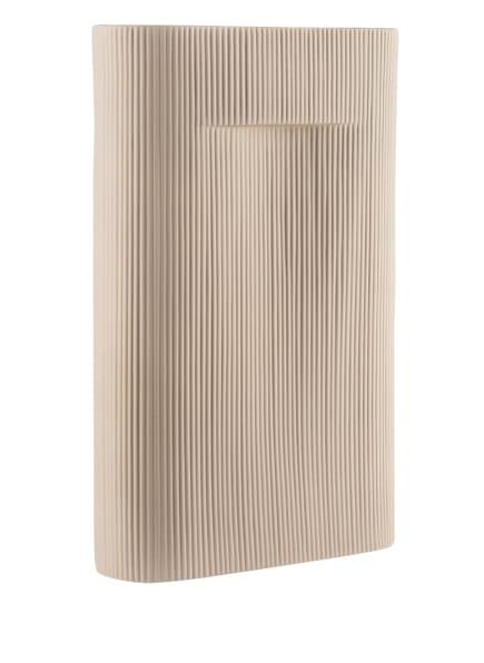 MUUTO Vase RIDGE, Farbe: BEIGE (Bild 1)