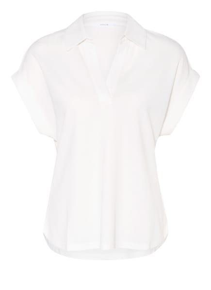 OPUS Piqué-Blusenshirt SILOU, Farbe: WEISS (Bild 1)