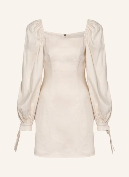 TED BAKER Kleid BRITINE mit Leinen, Farbe: CREME (Bild 1)