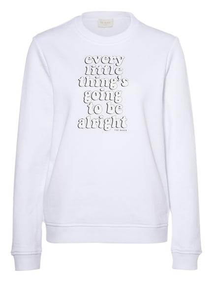 TED BAKER Sweatshirt JESIKA, Farbe: WEISS (Bild 1)