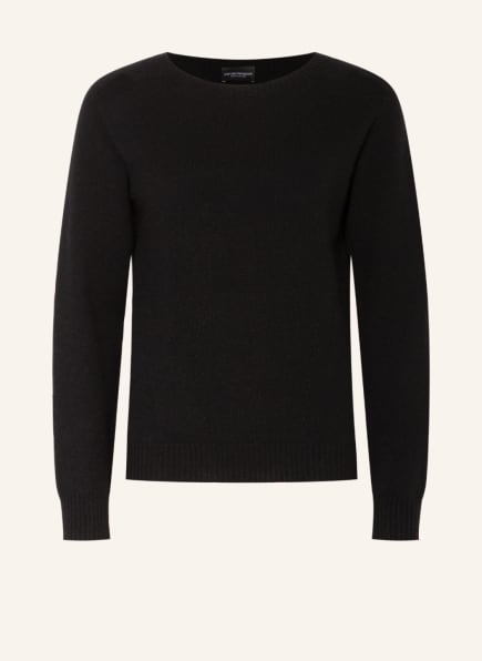 EMPORIO ARMANI Cashmere-Pullover, Farbe: SCHWARZ (Bild 1)