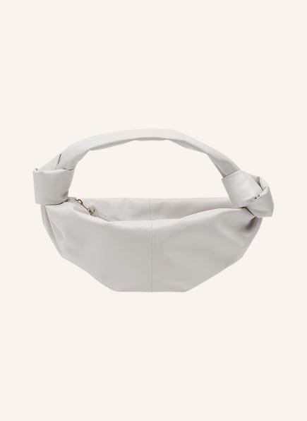BOTTEGA VENETA Hobo-Bag DOUBLE KNOT MINI, Farbe: WHITE (Bild 1)