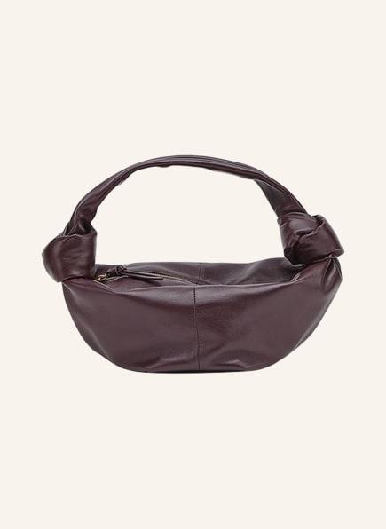 BOTTEGA VENETA Handtasche DOUBLE KNOT MINI, Farbe: GRAPE (Bild 1)