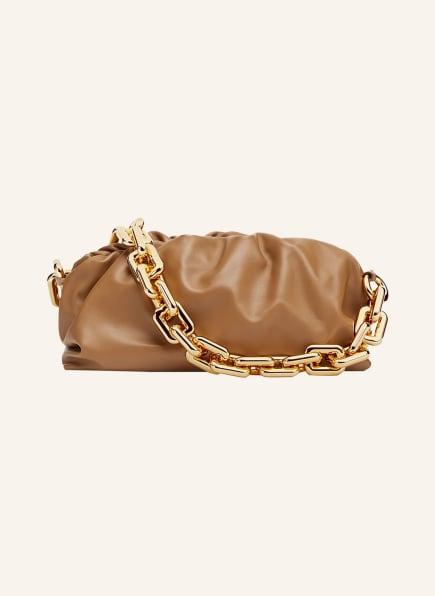 BOTTEGA VENETA Handtasche THE CHAIN POUCH, Farbe: CAMEL (Bild 1)