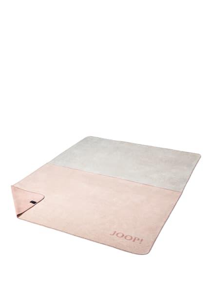 JOOP! Plaid LIMIT, Farbe: Rauch-Rosé (Bild 1)