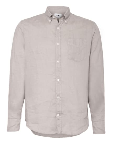 NN07 Leinenhemd LEVON Comfort Fit, Farbe: HELLGRAU (Bild 1)