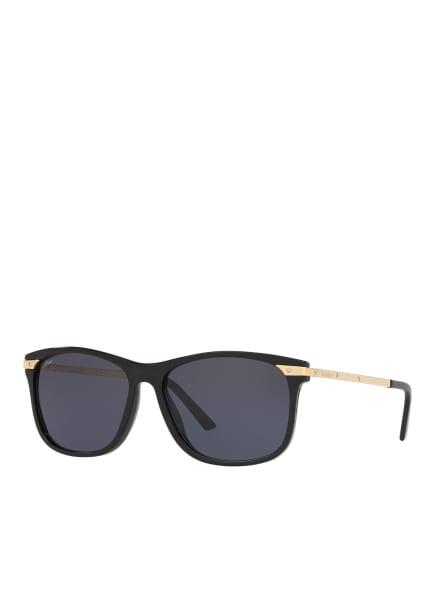 Cartier SUNGLASSES Sonnenbrille CT0104S, Farbe: 1100L1  - SCHWARZ/ BLAU (Bild 1)