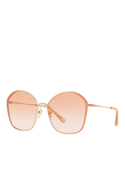 Chloé Sunglasses Sonnenbrille CH 0015S, Farbe: 3500P2 - ROSÉ/ ROSA VERLAUF (Bild 1)