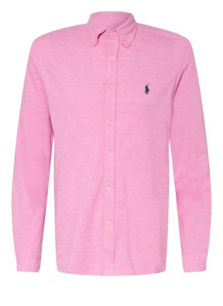 POLO RALPH LAUREN Jerseyhemd Custom Fit, Farbe: ROSA (Bild 1)
