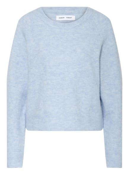 SAMSØE  SAMSØE Pullover mit Alpaka, Farbe: 00528 BRUNNERA BLUE MEL. (Bild 1)