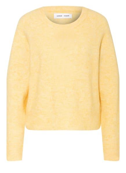 SAMSØE  SAMSØE Pullover mit Alpaka, Farbe: GELB (Bild 1)
