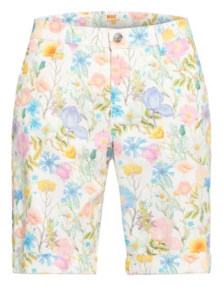 MAC Shorts SHORTY, Farbe: WEISS/ HELLBLAU/ ROSA (Bild 1)