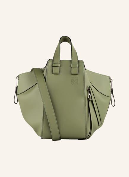 LOEWE Handtasche HAMMOCK SMALL, Farbe: OLIV (Bild 1)