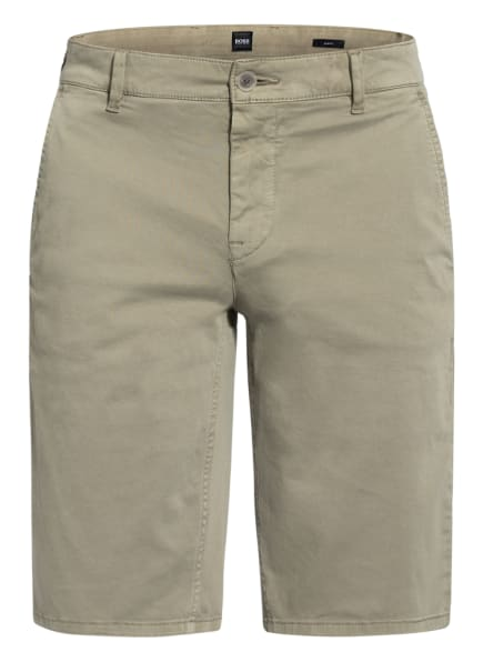 BOSS Chino-Shorts SCHINO Slim Fit, Farbe: GRÜN (Bild 1)