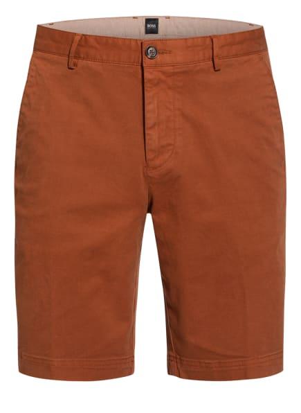 BOSS Chino-Shorts SLICE Slim Fit, Farbe: BRAUN (Bild 1)