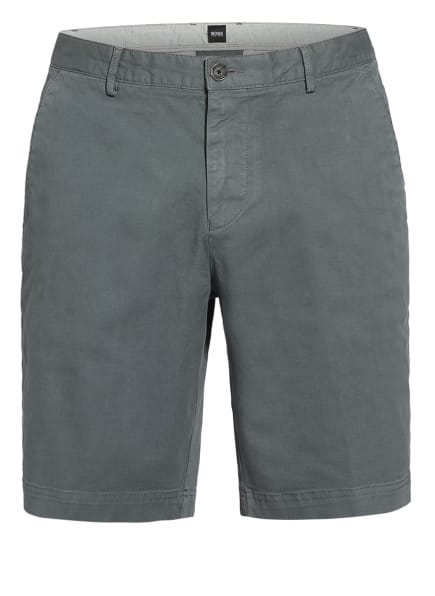 BOSS Chino-Shorts SLICE Slim Fit, Farbe: DUNKELGRÜN (Bild 1)