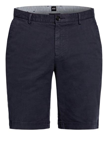 BOSS Chino-Shorts SLICE Slim Fit, Farbe: DUNKELBLAU (Bild 1)
