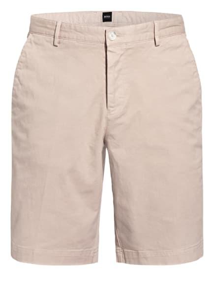 BOSS Chino-Shorts SLICE Slim Fit, Farbe: HELLBRAUN (Bild 1)