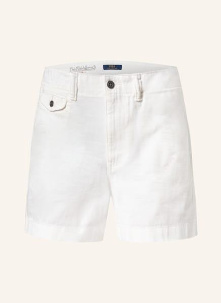 POLO RALPH LAUREN Shorts, Farbe: WEISS (Bild 1)