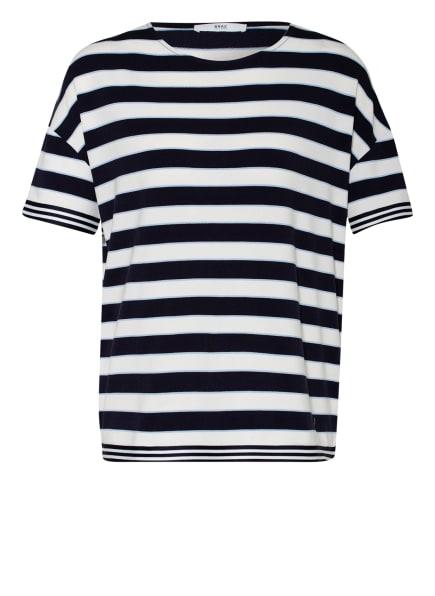 BRAX Oversized-Shirt RACHEL, Farbe: DUNKELBLAU/ WEISS/ HELLBLAU (Bild 1)