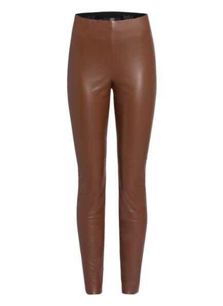 RIANI Leggings in Lederoptik, Farbe: BRAUN (Bild 1)