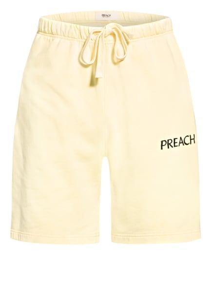 PREACH Sweatshorts, Farbe: GELB (Bild 1)