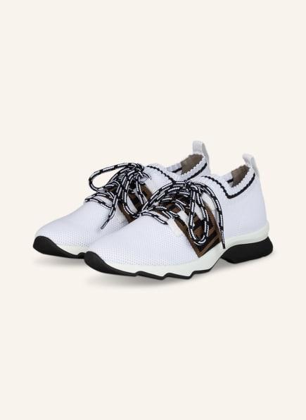 FENDI Sneaker, Farbe: WEISS/ CAMEL/ SCHWARZ (Bild 1)