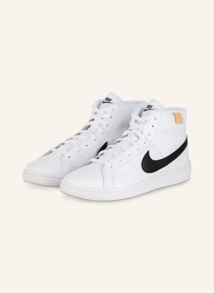 Nike Hightop-Sneaker COURT ROYALE 2 MID, Farbe: SCHWARZ/ WEISS (Bild 1)