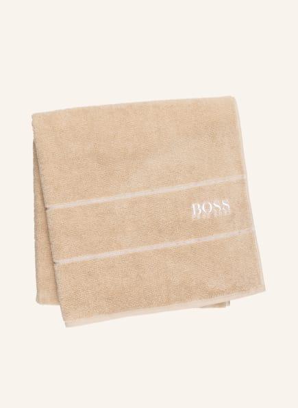 BOSS Duschtuch PLAIN, Farbe: CAMEL (Bild 1)