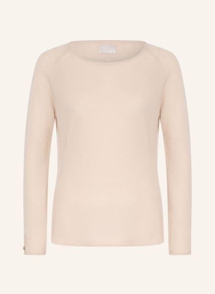 Mrs & HUGS Cashmere-Pullover , Farbe: CREME (Bild 1)