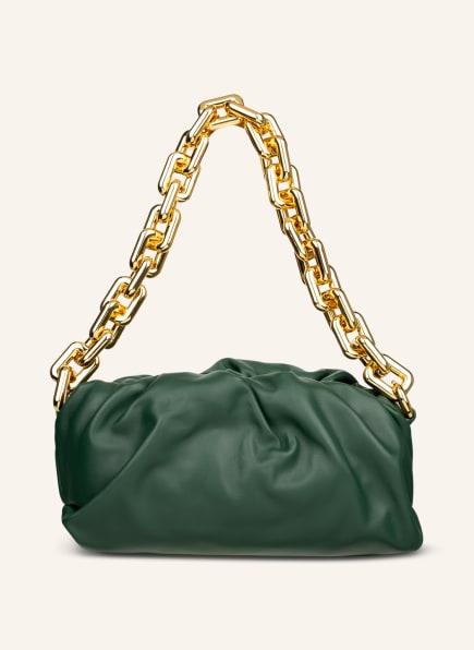 BOTTEGA VENETA Handtasche THE CHAIN POUCH, Farbe: RAINTREE (Bild 1)