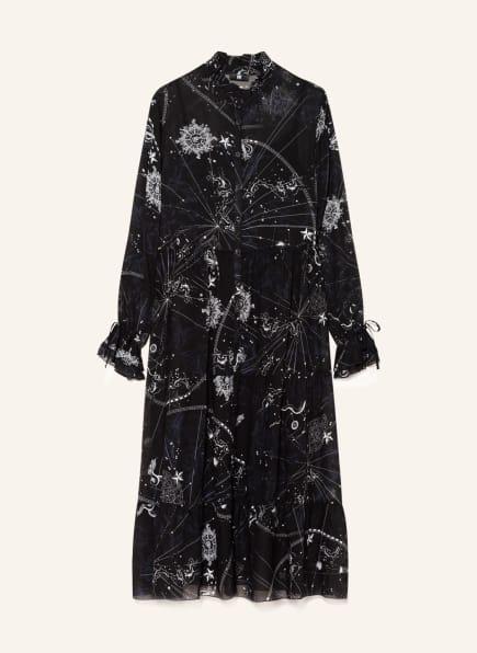 RIANI Hemdblusenkleid, Farbe: SCHWARZ/ WEISS (Bild 1)