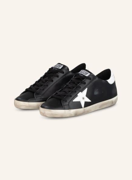 GOLDEN GOOSE Sneaker SUPER-STAR, Farbe: SCHWARZ/ WEISS (Bild 1)