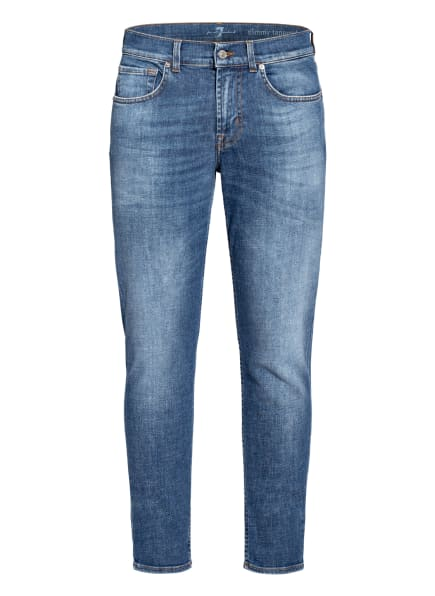 7 for all mankind Jeans SLIMMY TAPERED Modern Slim Fit, Farbe: MID BLUE (Bild 1)