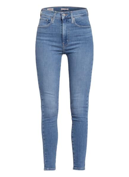 Levi's® Skinny Jeans MILE HIGH, Farbe: 26 Med Indigo - Worn In (Bild 1)