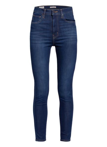 Levi's® Skinny Jeans MILE HIGH SUPER SKINNY , Farbe: 96 Dark Indigo - Worn In (Bild 1)