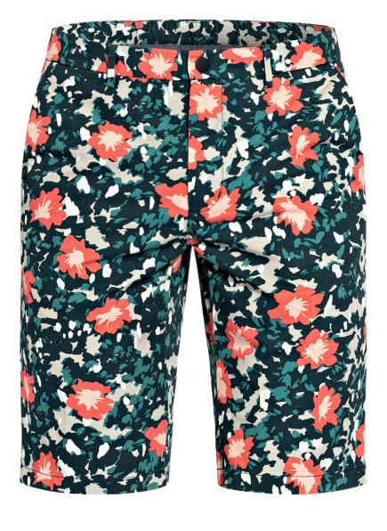 TOMMY HILFIGER Shorts Regular Fit, Farbe: BLAU/ HELLROT/ GRÜN (Bild 1)