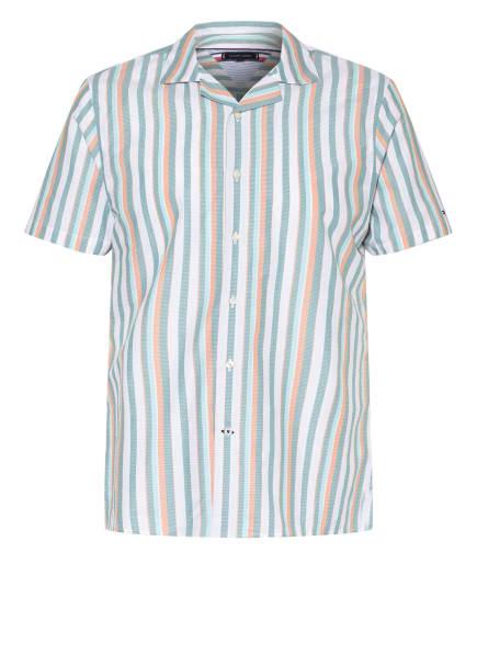 TOMMY HILFIGER Resorthemd Regular Fit , Farbe: MINT/ HELLORANGE/ HELLGRÜN (Bild 1)