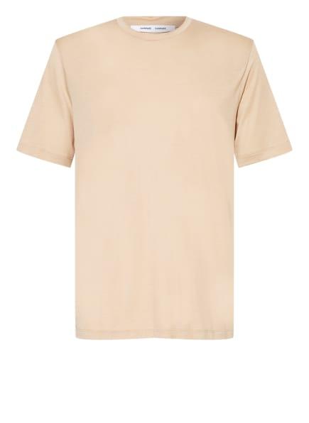 SAMSØE  SAMSØE T-Shirt TOKE, Farbe: CAMEL (Bild 1)