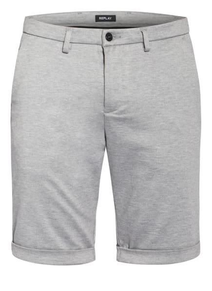 REPLAY Chino-Shorts SIMON , Farbe: HELLGRAU (Bild 1)