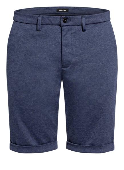 REPLAY Chino-Shorts SIMON , Farbe: BLAU (Bild 1)